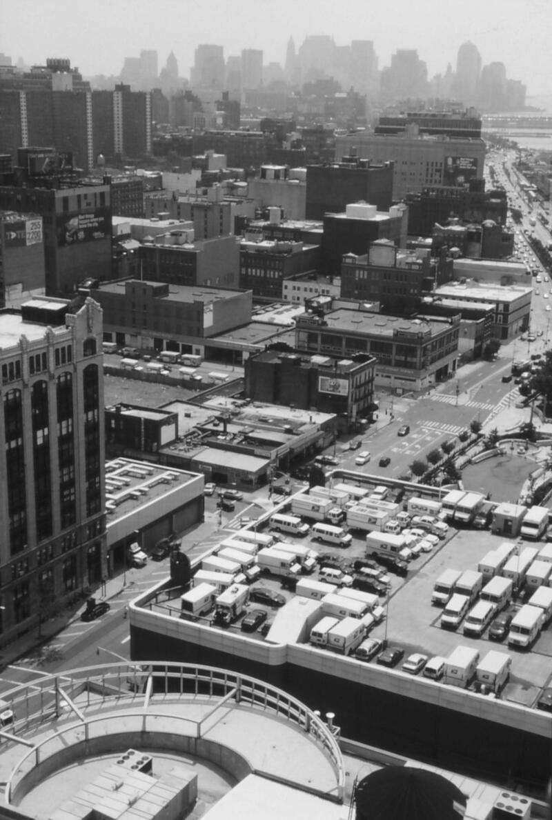 713 parkplatzmanhattanvonoben New York