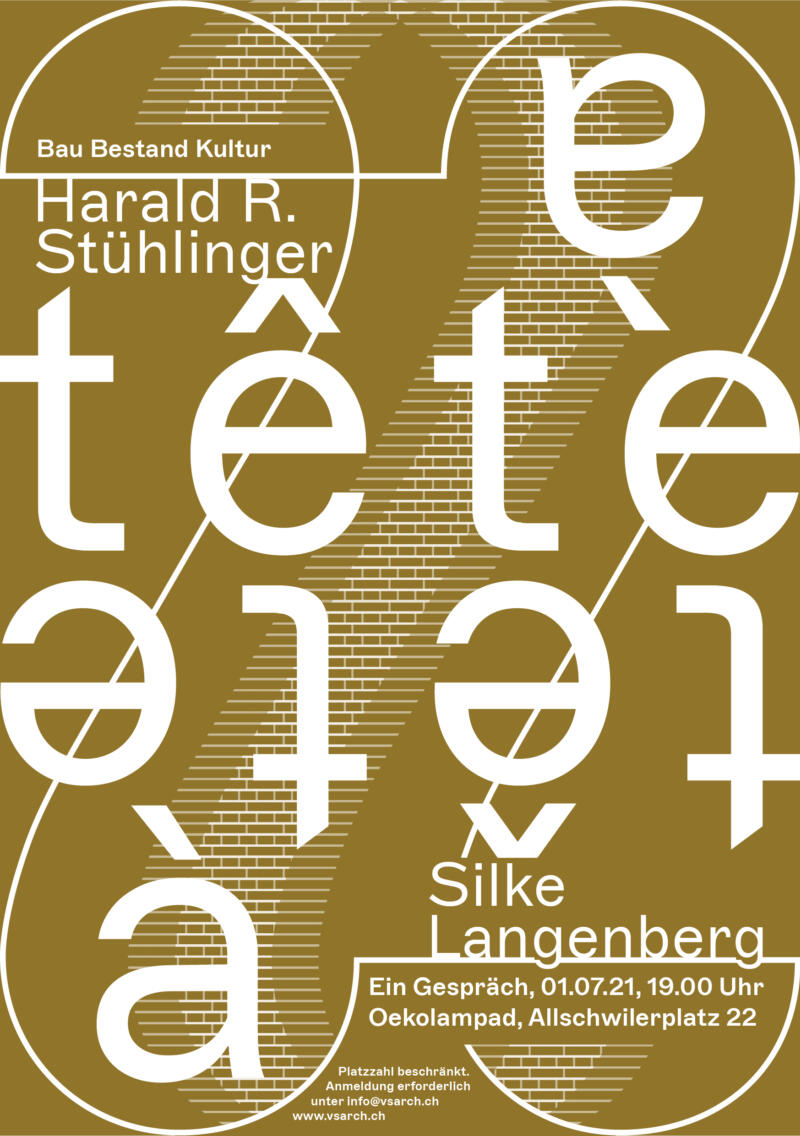 Flyer tete a tete Harald Stuehlinger Silke Langenberg